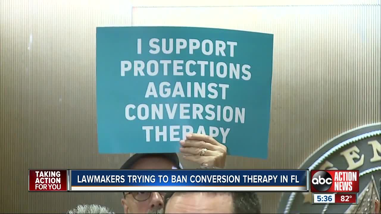 Lawmakers trying to ban conversion therapy in Florida