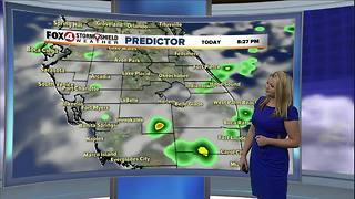 Scattered Storms Through Saturday