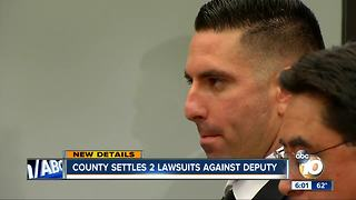 County settles two lawsuits against deputy - Video