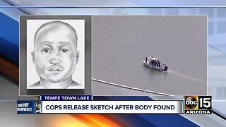 Police release sketch after body found in Tempe Town Lake