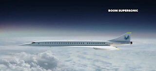 Boom Supersonic aims to fly anywhere in the world in four hours