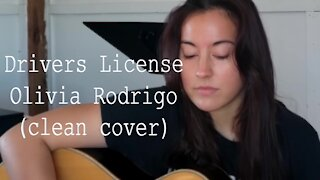 OLIVIA RODRIGO | Drivers License (Clean Guitar Cover)