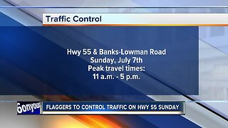 ITD flaggers set to control traffic Sunday
