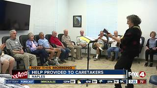 Caregiver support at the Naples Senior Center