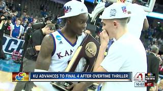 KU advances to Final Four after OT thriller - Video