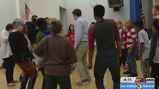 Students learn to perform Disney Musicals - Video