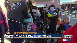 Local families grateful for donated toys - Video