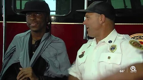 15-year-old meets heroes who saved him from Fort Pierce fire