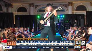 Fashion Rocks Autism fundraiser benefits SafeMinds, families with autism - Video