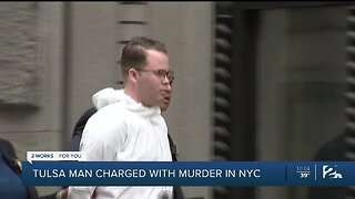 Tulsa man charged with murder in NYC