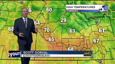 Scott Dorval's On Your Side Forecast - Tuesday 10/15/19