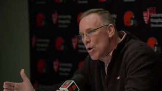 "Browns GM Calls Out Previous Regime, ""Didn't Get Real Players"" - Video"