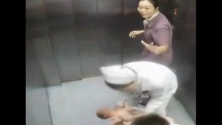 Woman gives birth in elevator - Video