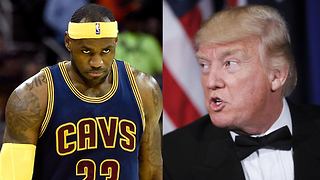 "LeBron James ""100 Percent"" LEAVING the Cavs Because of Donald Trump! - Video"