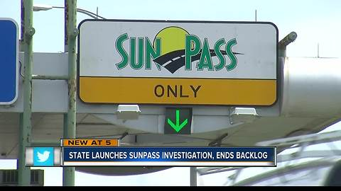 FDOT: Backlog of SunPass transactions cleared, investigation launched