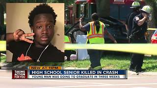 Community mourns the death of teen killed in crash 3 weeks before Lakewood High School graduation - Video