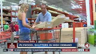 Stores Running Low on Hurricane Supplies as Irma Nears