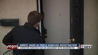 Woman arrested for allegedly killing her three roommates - Video