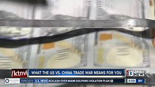 Local financial expert talks about the impact of recent tariffs - Video