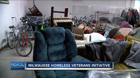 Help homeless veterans by donating home goods