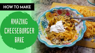 How To Make Cheeseburger Bake/ Rebecca's Kitchen