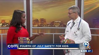 Doctor offers July Fourth safety tips - Video