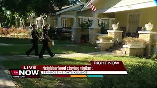 Seminole Heights neighborhood staying vigilant - Video