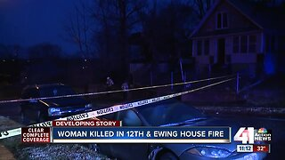 Woman killed in morning KCMO house fire