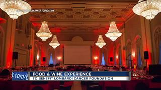 Fuzzy Marek discusses Vince Lombardi Cancer Foundation food and wine event - Video