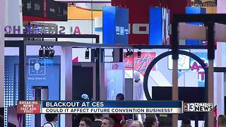 Power failures won't scare away conventions, trade shows - Video