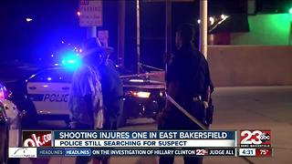 BPD investigating a shooting in East Bakersfield - Video