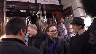 Christian Slater at Labour Of Love press night in London - Video