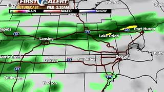 Widespread soaking rain for Metro Detroit