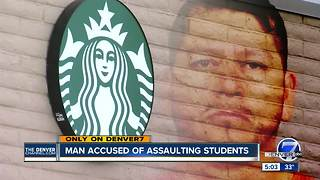 Court records: Colorado man accused of groping women at Starbucks targeted young students - Video