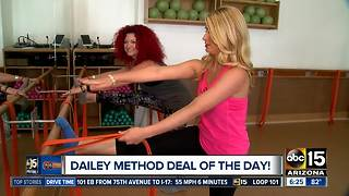 Get a GREAT deal on workouts at The Dailey Method - Video