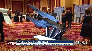 Nellis Air Force holds ball on Sept. 23 - Video