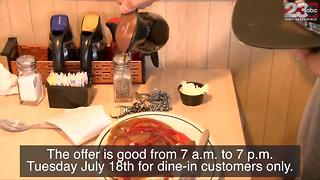 IHOP celebrating its 59th anniversary with 59 cent pancakes - Video