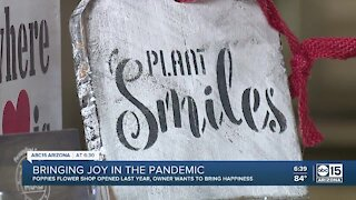Phoenix flower shop finds business blooming during pandemic