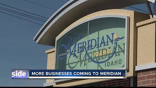 More businesses coming to Meridian - Video