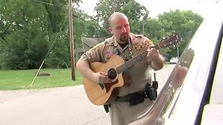Deputy writes song in honor of fallen Clinton police officer - Video