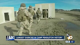 Largest exercise in Camp Pendleton history