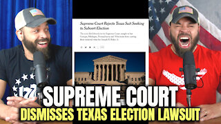 U.S. Supreme Court Dismisses Texas Lawsuit