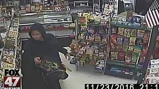 Police release images of homicide suspect - Video