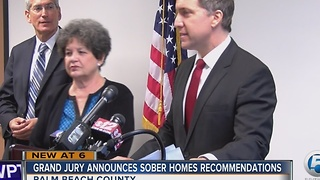 Grand jury announces sober homes recommendations - Video