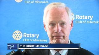 Sen. Ron Johnson on Trump's response to crisis in Charlottesville crisis - Video