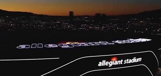 Allegiant Stadium expected to be completed Friday