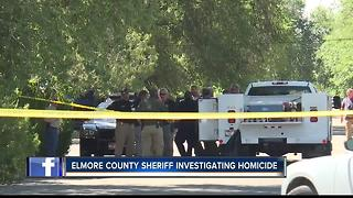 Suspect and victim identified in Mountain Home homicide - Video