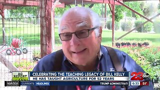 Billy Kelly Retires After 52 Years