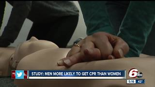 Women less likely to get CPR than men - Video