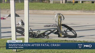 Bicyclist killed in crash in North Fort Myers